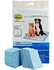 BPS® Empapadores de Entrenamiento para Perros Gatos Perfumes con Feromonas para Atraer los Cachorros y Simplificar el Entrenamiento (20pcs 60 * 60 cm) BPS-2167