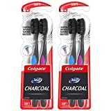 Colgate 360 Charcoal Toothbrush, Soft Bristles (4 Count)