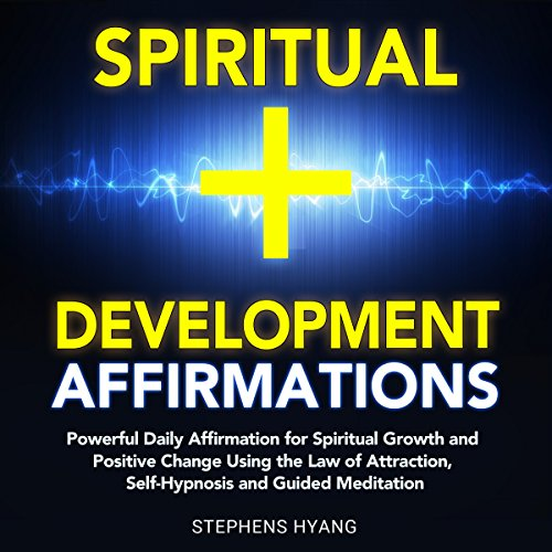 Spiritual Development Affirmations audiobook cover art
