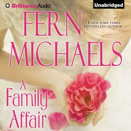 A Family Affair audiobook cover art