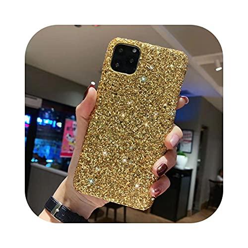 Bling Glitter Sequ - Carcasa para iPhone 11 Pro Xs Max para iPhone 6 7 8 Plus 11Pro Max-5
