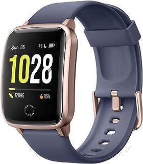 Willful Reloj Inteligente, Pulsera Actividad Inteligente con 11 Modos de Deporte Pulsómetros Contador de Caloría Cronógraf...
