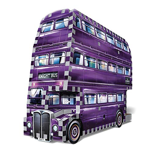 Wrebbit 3D - Harry Potter and The Prisoner of Azkaban Knight Bus 3D Jigsaw Puzzle (280Piece) (W3D-0507)