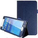 NSSTAR Klapp-Schutzhülle für Samsung Galaxy Tab 47.0(7Zoll), ultra dünn, PU-Leder, Standfunktion, Schutzhülle für Samsung Galaxy Tab 477 Zoll Tablet SM-T230SM-T231SM-235, 5037882