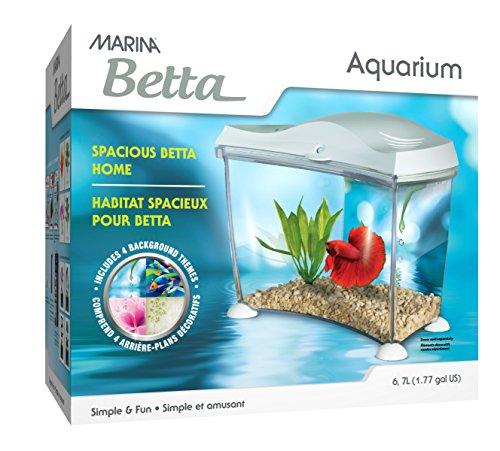 Marina Betta Aquarium Kit, 1.77 Gallon
