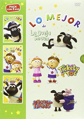 Pack Lo Mejor De Timmy + Lo Mejor De La Oveja Shaun + Lo Mejor De Tickety Toc [DVD]