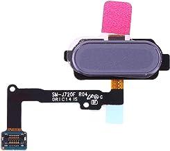 MUJUN Cell Phones Spare Accessories Fingerprint Sensor Flex Cable Repair Part Replacement for Samsung Galaxy J7 Duo SM-J720F (Color : Grey)