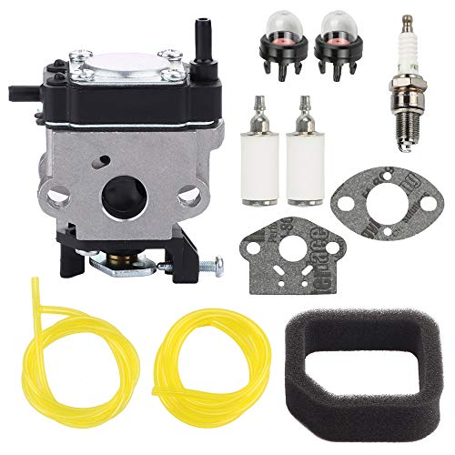 POEMQ 308480001 Carburetor with Air Filter for Toro 51974 51972 51955 51977 51958 51978 51998 Gas Trimmer 51922 Brushcutter 51948 51944 25Cc Power Head 51986 Gas Leaf Blower Replace WYC-7 WYC-7-1