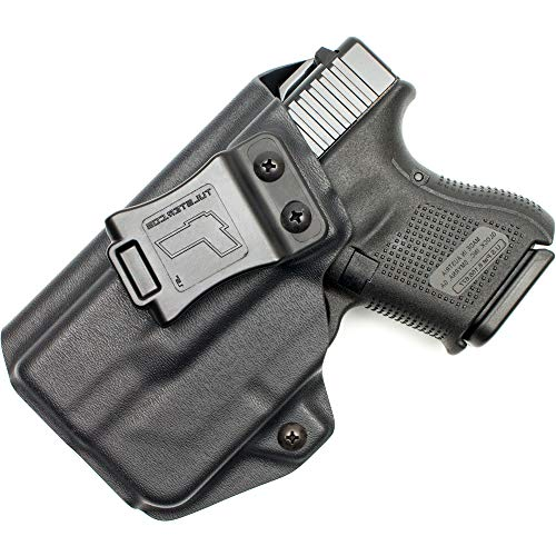 Tulster IWB Profile Holster in Left Hand fits: Glock 26/27/28/33 w/TLR-6