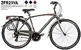 Bici Misura 28 Uomo City Bike Alluminio Altus 21V ZEFIRO Art. ZFR21VA (47 CM)