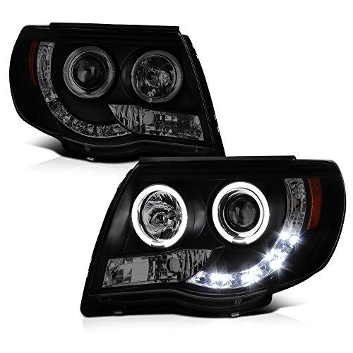 05 toyota tacoma headlights black - 4