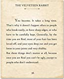The Velveteen Rabbit - You Become - 11x14...