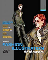 Book Review: Fashion Illustration for Designers 2 Fashion Croquis and Drawing Tutorials