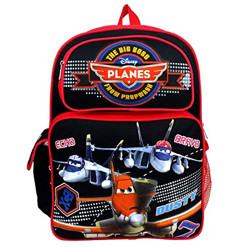 Disney Planes Backpack - The Big Boss From Propwash - 16'' Backpack