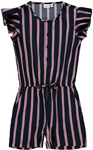 NAME IT NAME IT Mädchen Jumpsuit Overall nkfVINAYA (164, Dark Sapphire)