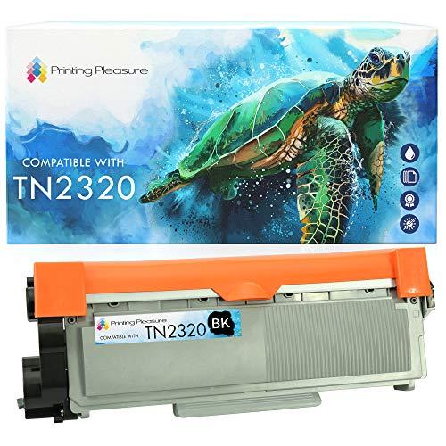 Printing Pleasure TN2320 Toner Cartridge Compatible for TN-2320 Brother HL-L2300D HL-L2320D HL-L2340DW HL-L2360DN HL-L2365DW DCP-L2500D DCP-L2520DW DCP-L2540DN MFC-L2700DW MFC-L2720DW MFC-L2740DW -  Printing Pleasure, non Brother product, v_brotherTN2320-1black