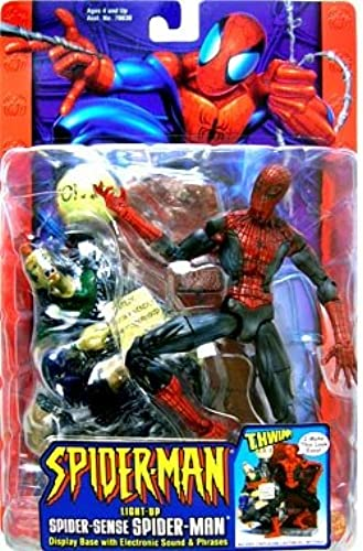 productos creativos Spider Sense Spider-Man Spider-Man Spider-Man Action Figure by Spider-Man  Entrega gratuita y rápida disponible.
