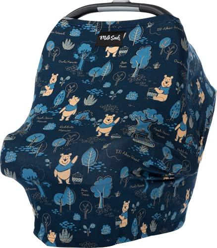 Milk Snob Original Disney 5-in-1 Cover, Winnie The Pooh, Added Privacy for Breastfeeding, Baby Car...