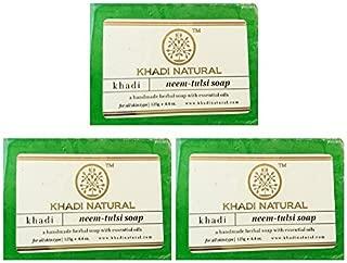 Khadi Natural Neem Tulsi Soap, 125g by Khadi Natural