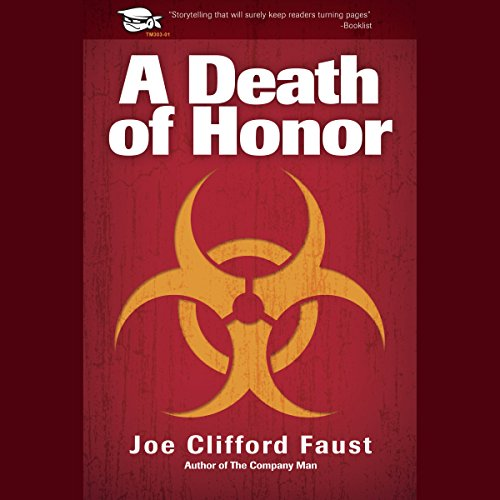 A Death of Honor audiobook cover art