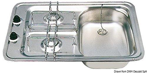 Smev Model D kookplaat rechts 2 branders