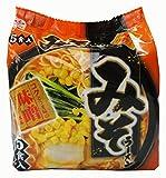 ヒガシマル 即席みそラーメン 5食入り 78.1X5