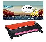 Bergsan 1 tóner magenta rojo XL compatible con Samsung CLT M404S Xpress C430 C430W C480 C480W C480FN C480FW Xpress SL-C430 SL-C430W SL-C480 SL-C480W SL-C480FN SL-C480FW