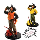 YYQIANG Dragon Ball Super Saiyan Dragon Ball Z Budokai 3 Culture de l'eau Potable Wukong Figurine Maquette Adultes Jouets for Enfants (Color : Orange)