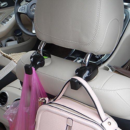 IPELY Universal Car Vehicle Back Seat Headrest Hanger Holder Hook for Bag Purse Cloth Grocery product image