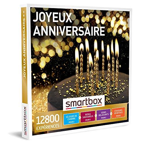 SMARTBOX - Coffret Cadeau d'anniversaire - Idée cadeau original our homme ou femme - Expériences d'exception : Séjours, gastronomie, aventure