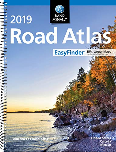 2019 Rand McNally EasyFinder® Midsize Road Atlas