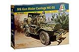 ITALERI 6555S – 1:35 M6 Anti-Tank Dodge, maqueta, maqueta, construcción de Modelos,...
