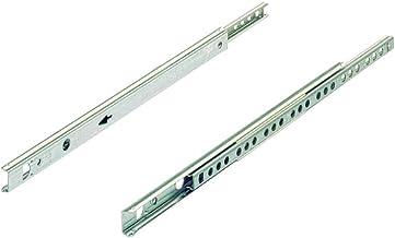 Sistema di estrazione totale preciso colore: Argento silenzioso Hettich Quadro V6 450 9220218 stabile portata 30 kg lunghezza 450 mm
