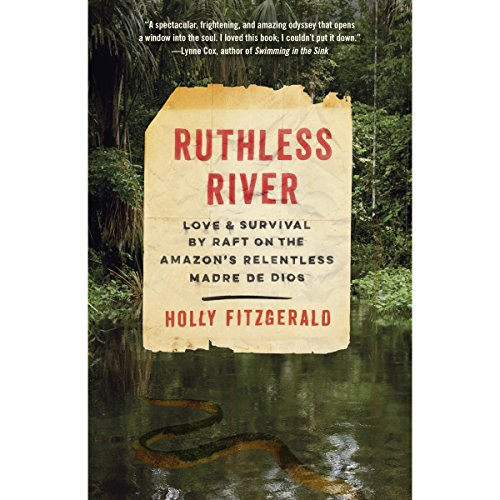 Ruthless River audiobook cover art