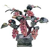 Planta artificial Cristales Dinero árbol jade cristal vid ornamento bonsai duozi duofu feng shui adornos para la decoración de la oficina de la oficina creativa Regalo espiritual Arbo Artificial