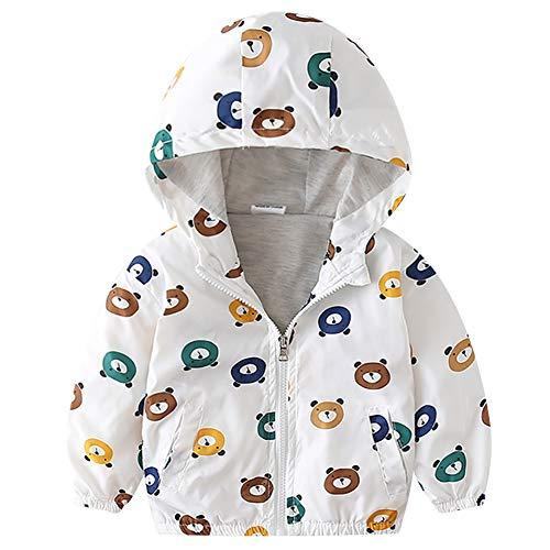 Chaqueta con capucha para bebé, niño o niña, chaqueta con capucha, abrigo...