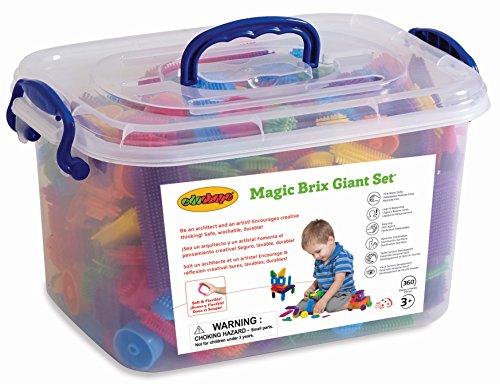 Edushape Magic Brix Giant Set, 360-Piece