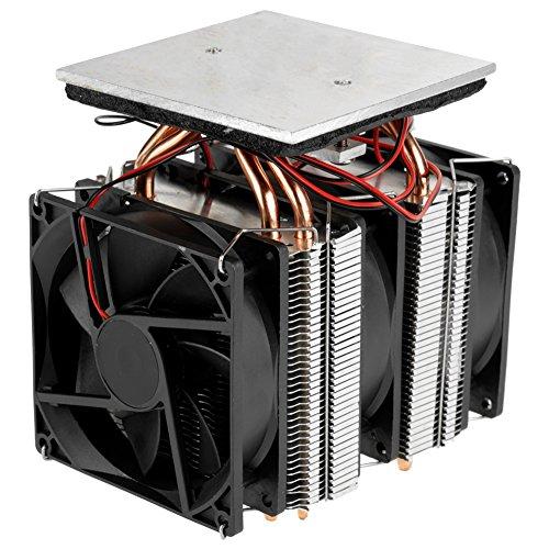 emiconductor Refrigeración Termoeléctrica Peltier Dispositivo de enfriamiento de deshumidificación de enfriamiento por aire Enfriador termoeléctrico Mini equipo de refrigerador de 12V 10A DIY
