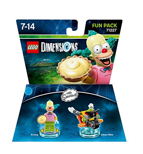 Warner Bros Interactive Spain Lego Dimensions - Figura The Simpsons, Krusty
