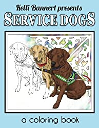 Kellis Service Dogs Coloring Book