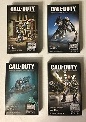 MB 1 Random Call of Duty Mega Bloks Kit Set Brutus Jetpack Fighter Seal Specialist or Advanced Enforcer Action Figure Building Blocks Toy