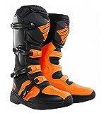 Shot X11 Mens MX Offroad Boots Neon Orange 44 EUR