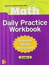 Macmillan/McGraw-Hill Math, Grade 6, Daily Practice Workbook (MMGH MATHEMATICS)