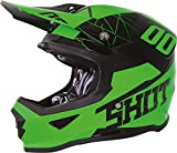 SHOT FURIOSO SPECTRE Casco Da Motocross 2018 - verde neon - Multicolore, XXL (63-64 cm)