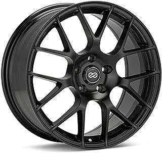 Enkei Raijin 18X9.5 35Mm Inset 5X114.3 Bolt Pattern 72.6 Bore Dia Black Wheel(467-895-6535Bk)