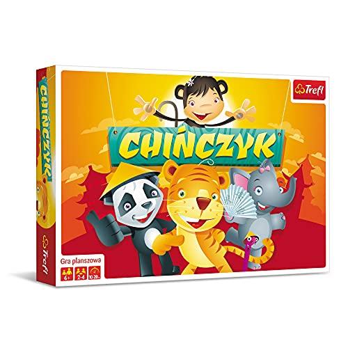 Trefl Chińczyk Ilustrowany Gra Planszowa dla Dzieci od 6 lat