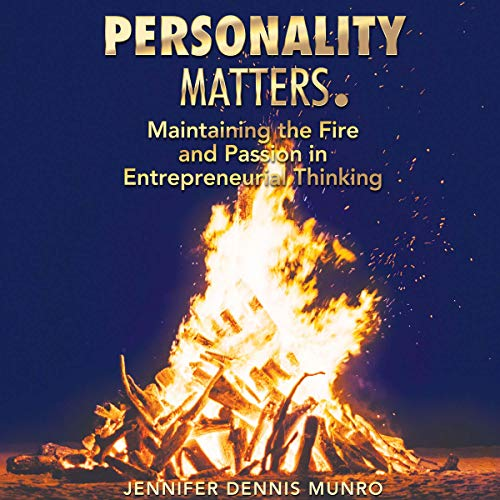 Personality Matters audiobook cover art