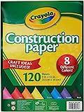 Crayola Construction Paper (120 Sheets)