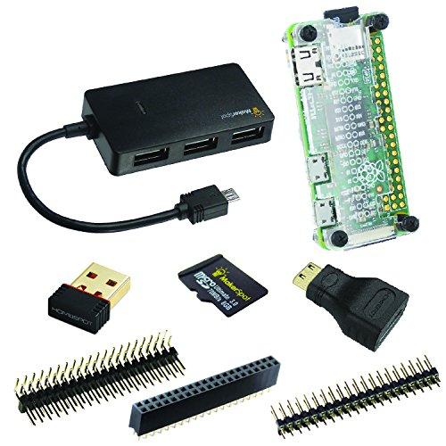Amazon.de - 8-in-1 Raspberry Pi Zero W Mega Starter Kit