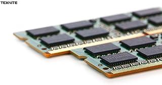 Texnite 820077-B21 - Juego de memoria para HP Proliant MicroServe G8 (2 x 4 GB, 8 GB, 4 unidades PC3-12800E(DDR3-1600)
